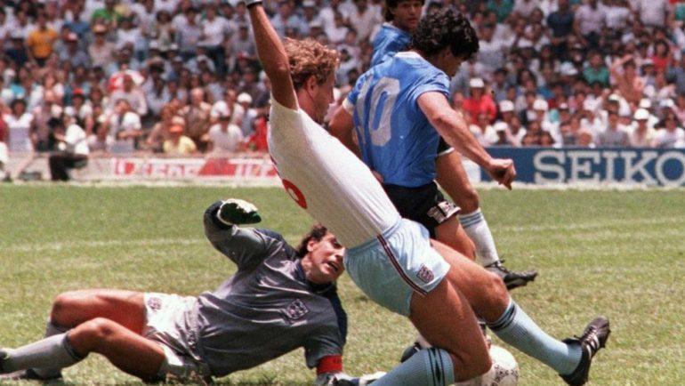 El gol del siglo fue de Maradona
