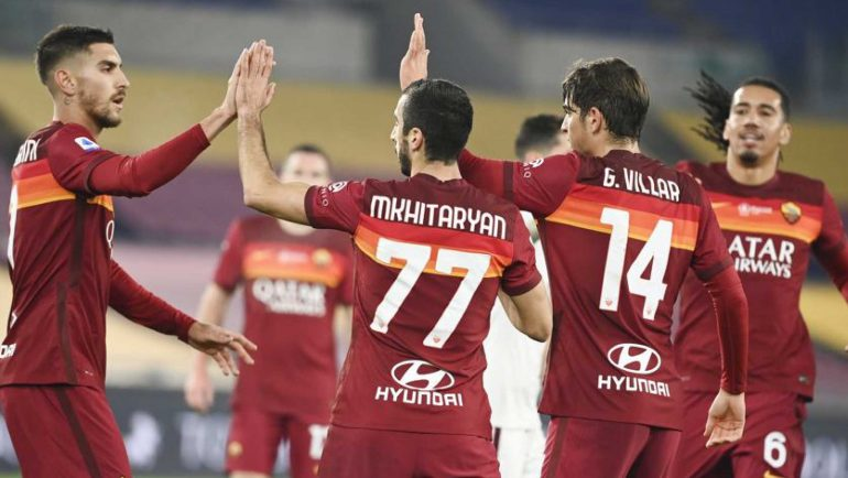 La Roma derrota a Torino y sigue en la pelea